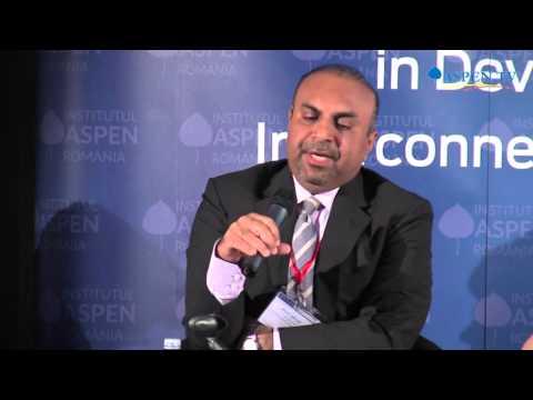 Asad Aleem at Bucharest Forum Energy 2015