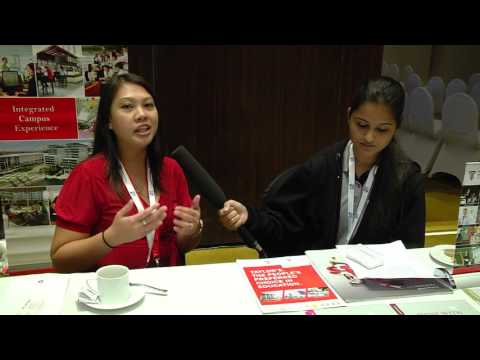Taylors University Malaysia – Stephanie  - Singapore and Malaysia Education Expo 2015