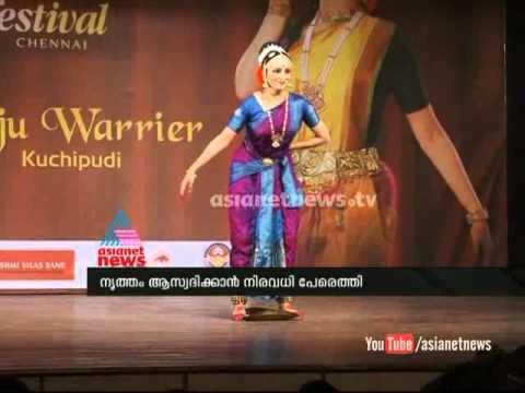 Manju Warrier Dance Performance at soorya dance festival 2014