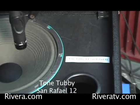 15 Speakers compared Celestion vs E.V. vs Eminence vs JBL vs Jensen vs Tone Tubby