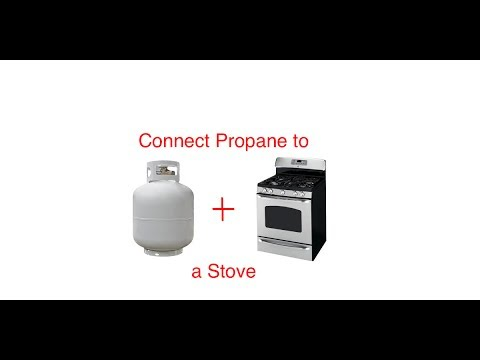 how to hook up a gas stove to propane How to hook up a propane tank to a house how to reset the propane regulator for a gas grill how to connect a 100-lb propane tank to a gas grill.