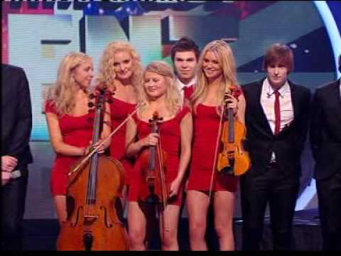 The Arrangement on 3rd semi-final of Britains Got Talent