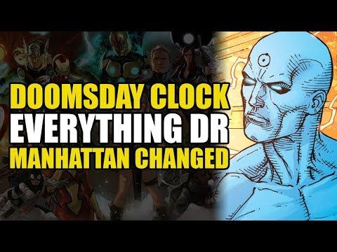 Everything Dr Manhattan Changed (Doomsday Clock Part 10)