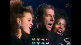 Download Song LEONARD COHEN - Take this waltz - TVRIP - 1988 - Subtitulado inglés y español Free StafaMp3
