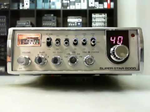 SUPER STAR 2000, CB & HAM radio overview