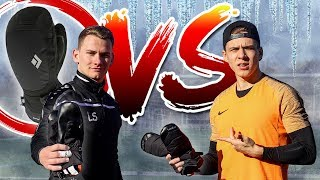 Keeper-Battle mit WINTERHANDSCHUHEN (ft. Goalkeeperz)