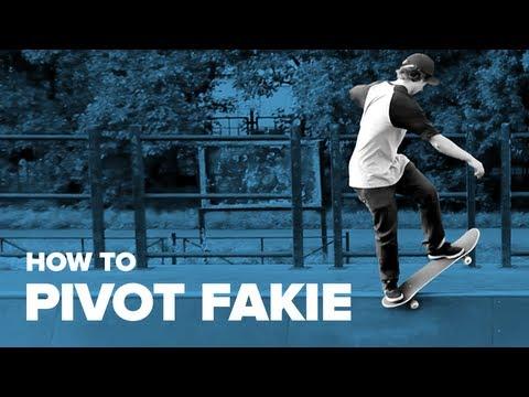Как сделать пайвот фэйки на скейтборде (How to Pivot Fakie on a Skateboard)