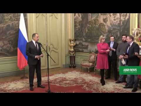 Lavrov says Russia 'not guilty' of poisoning, ready to cooperate