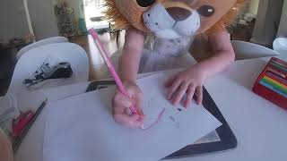 how to draw cartoon husky bat jessie way