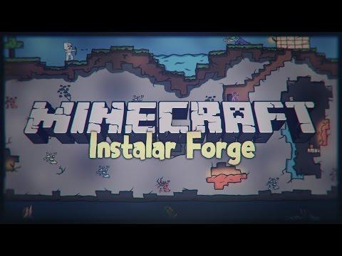 Tutorial Minecraft - Como instalar Forge 1.8 / 1.8.1