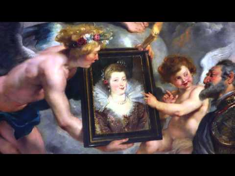 Rubens, The Presentation of the Portrait of Marie de' Medici