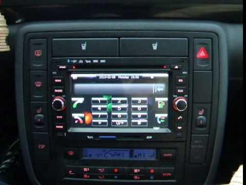 Sistem de navigatie TTi-6386 montat pe un Sharan din 2006.wmv