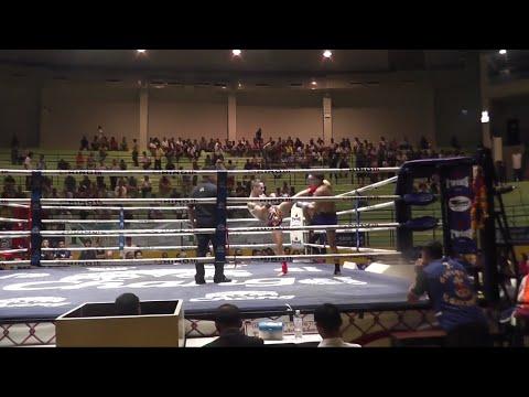 Craig Dickson Sumalee VS Leroy Vor. Sakhonrit: Lumpinee Boxing Stadium, Bangkok, 27th Feb 2015