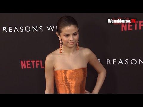 Selena Gomez Beautiful at Netflix's '13 Reasons Why' Los Angeles premiere Red carpet thumbnail