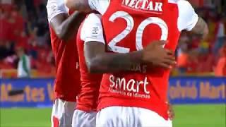 Liga Aguila | Santa Fe 1-0 Alianza Petrolera | Gol de Wilson Morelo