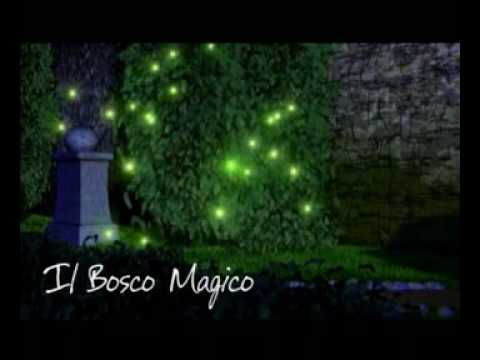 Il Bosco Magico - The Magic Wood - cartoons riedited by  Enzo Vacalebre
