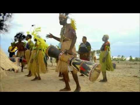 Background Tari Sajojo Papua - Stream Malang