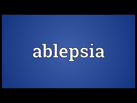 Header of ablepsia