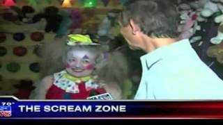 Kusi-tv Visits The Scream Zone 10-08-2012