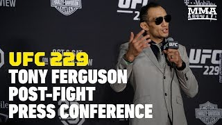 UFC 229: Tony Ferguson Post-Fight Press Conference - MMA Fighting