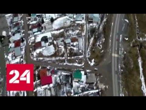 На Томи специалисты продолжают борьбу с ледовым затором - Россия 24