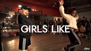 Tinie Tempah - Girls Like ft Zara Larsson - Choreography by Eden Shabtai - Filmed by @TimMilgram