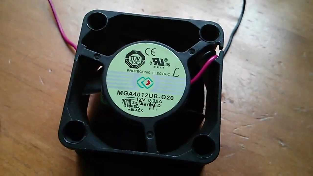 High Speed 12 Volt Cooling Fans : Crazy high speed v ma fans to cool w led youtube