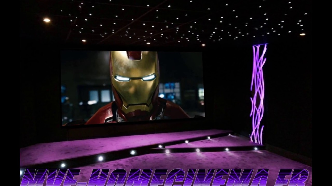 Salle tv Home Cinema Salle Home Cinéma Privée