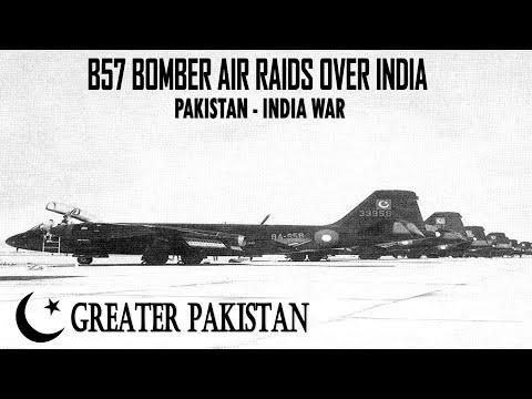 B-57 Bomber Air Raids Over India - Pakistan-India War