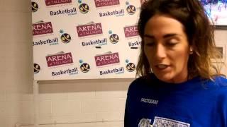 Grainne Dwyer - Irish women's Cup MVP