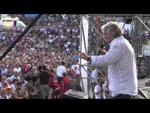 Beppe Grillo #Italia5Stelle al Circo Massimo: giorno 3