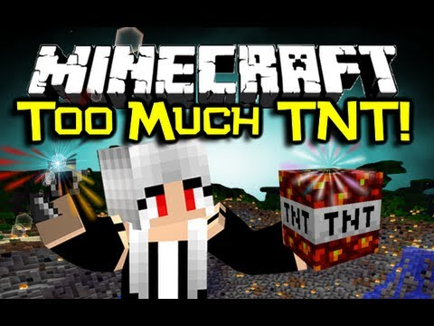 Minecraft - TOO MUCH TNT MOD Spotlight - Let's Blow Stuff Up! (Minecraft Mod Showcase)