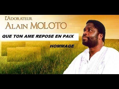 Hommage à l'Adorateur Alain Moloto frere Ivy Longo chante