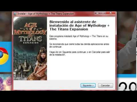PARODIA a video tutoriales- Como instalar Age of mythology the titans expansion