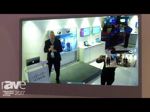ISE 2017: Cisco Demos PresenterTrack Improving Visibility for Video Conference Attendees