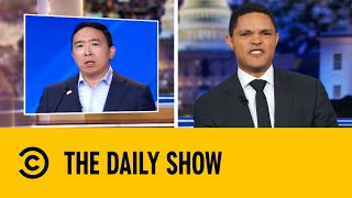 Andrew Yang Appeals To Voters With Cold Hard Cash | The Daily Show With Trevor Noah