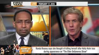 Stephen A. Smith on Ronda Rousey