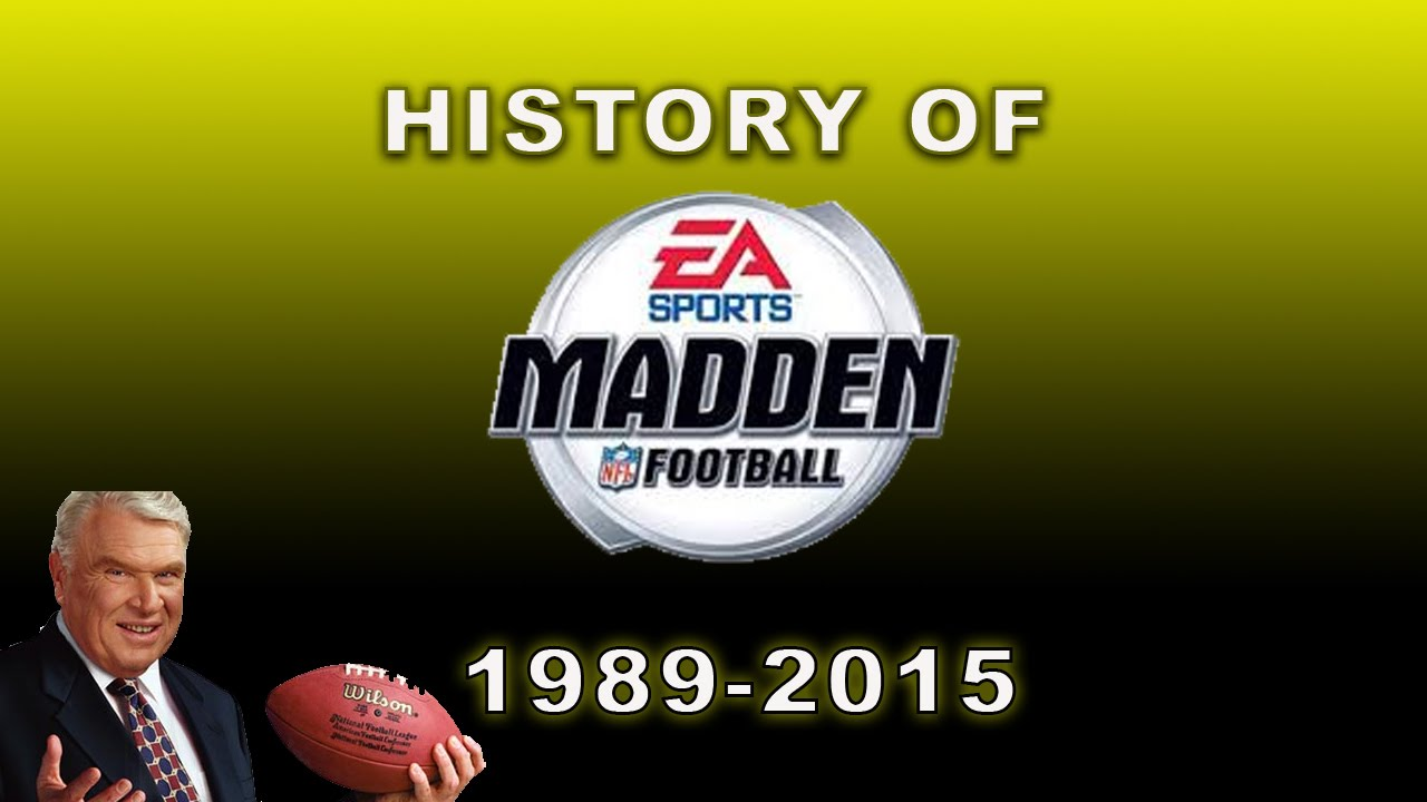 History Of Madden Games (1989-2015)
