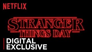 Stranger Things | Stranger Things Day | Netflix