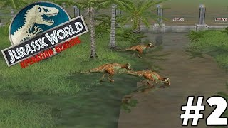 Jurassic World Operation Genesis #2 - To Much Going On