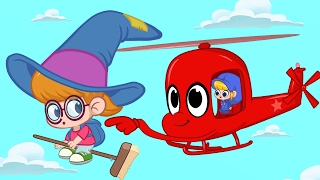 Playing Magical Tag with Morphle and Phoebe the Witch girl! Animation episode for kids
