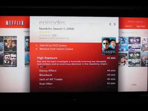 Netflix in Windows Media Center 7