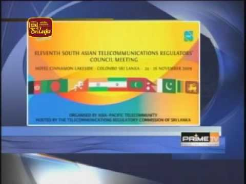 Regional telecommunication meeting in Colombo - 21-11-09