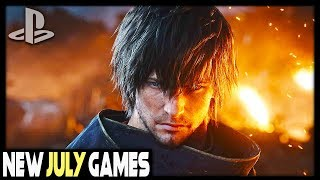 7 AWESOME NEW PS4 GAMES COMING IN JULY 2019 - ONE OF THEM IS FREE!