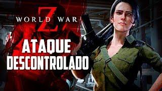 O ataque DESCONTROLADO dos ZUMBIS - World War Z