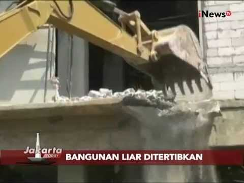 Bangunan Liar 3 Lantai Dibongkar Petugas Di Pasar Minggu - Jakarta Today 13/08