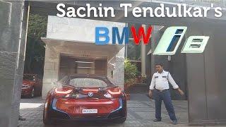 Sachin Tendulkar's BMW i8 Spotted | Mumbai 2016