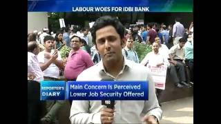 IDBI Bank Employees Go On A Strike