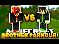 Minecraft PARKOUR With MY LITTLE BROTHER!   W/PrestonPlayz & Caleb