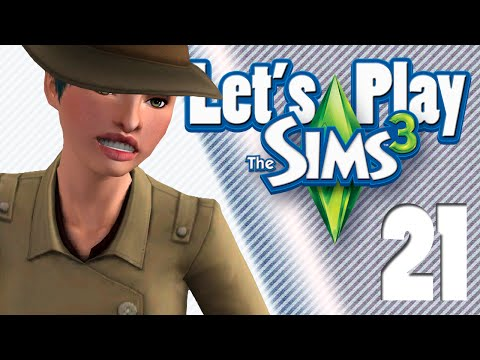 Let's Play The Sims 3 Part 21: A Determined, Ellen Page-Style Walk